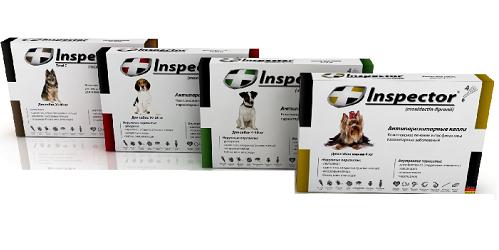 инспектор капли для собак инструкция цена - фото 4